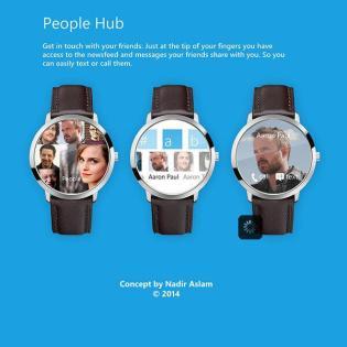 Microsoft Smartwatch Konzept 09