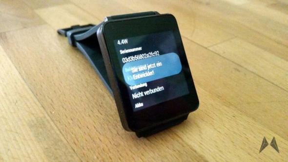 g watch dev