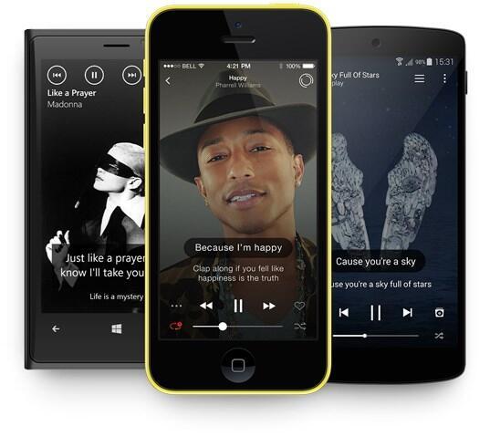 musixmatch die intelligente musiksoftware app tipp. Black Bedroom Furniture Sets. Home Design Ideas