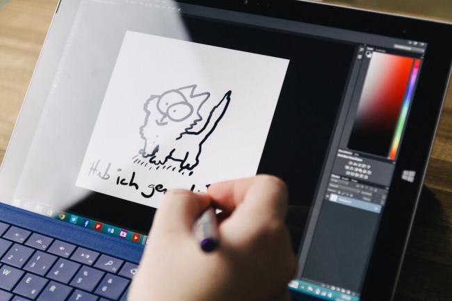 Microsoft Surface 3 Pro - Photoshop