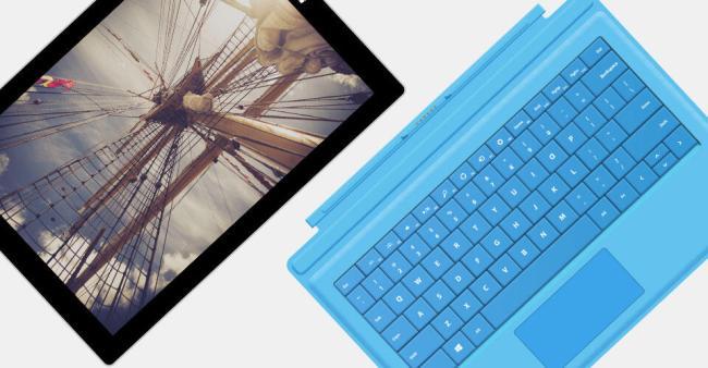 Microsoft Surface Header