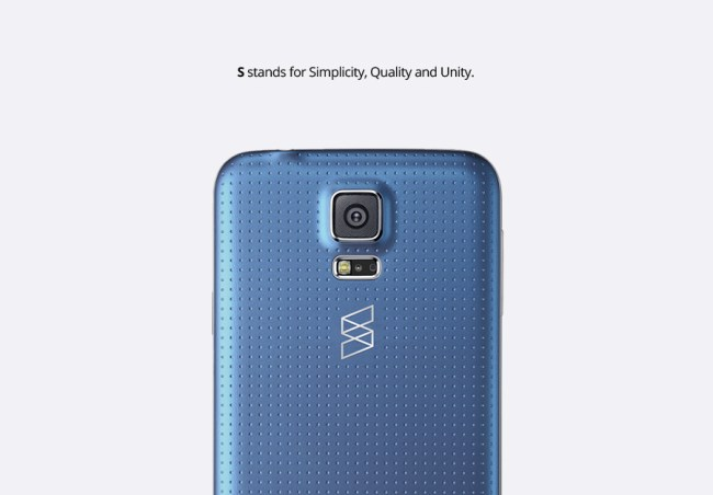 Samsung Konzept S5 Rückseite