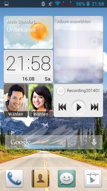 g610 widgets