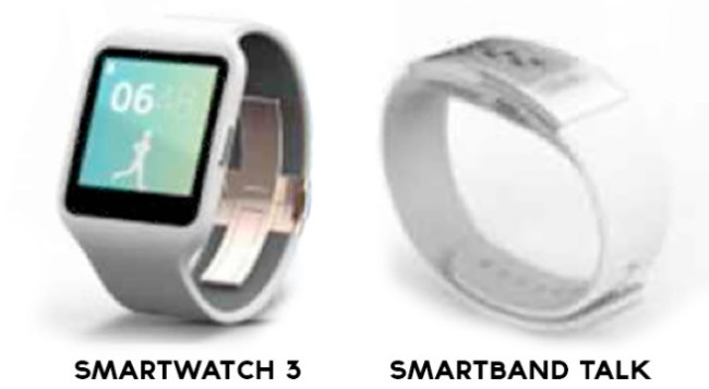 Smartwatch 3 & SmartBand Talk