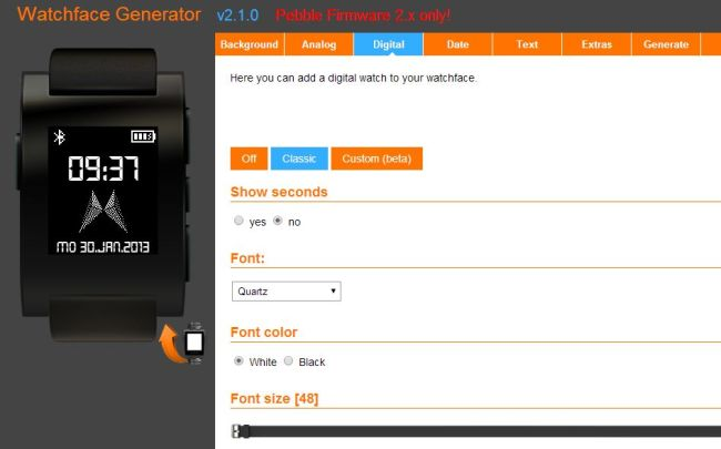 Watchface-Generator