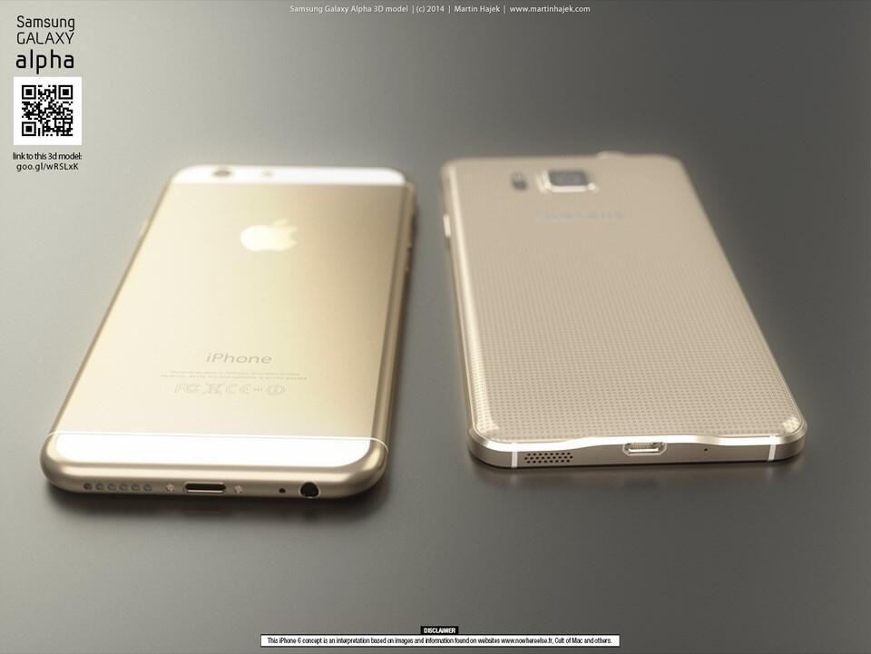 iPhone 6 vs Galaxy Alpha Konzept (3)