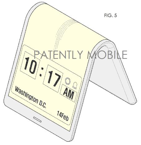 samsung-faltbar-display-patent-wecker