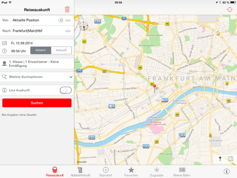 DB Navigator iOS 7 Design