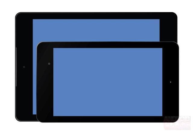 Nexus 9 Vergleich Nexus 7