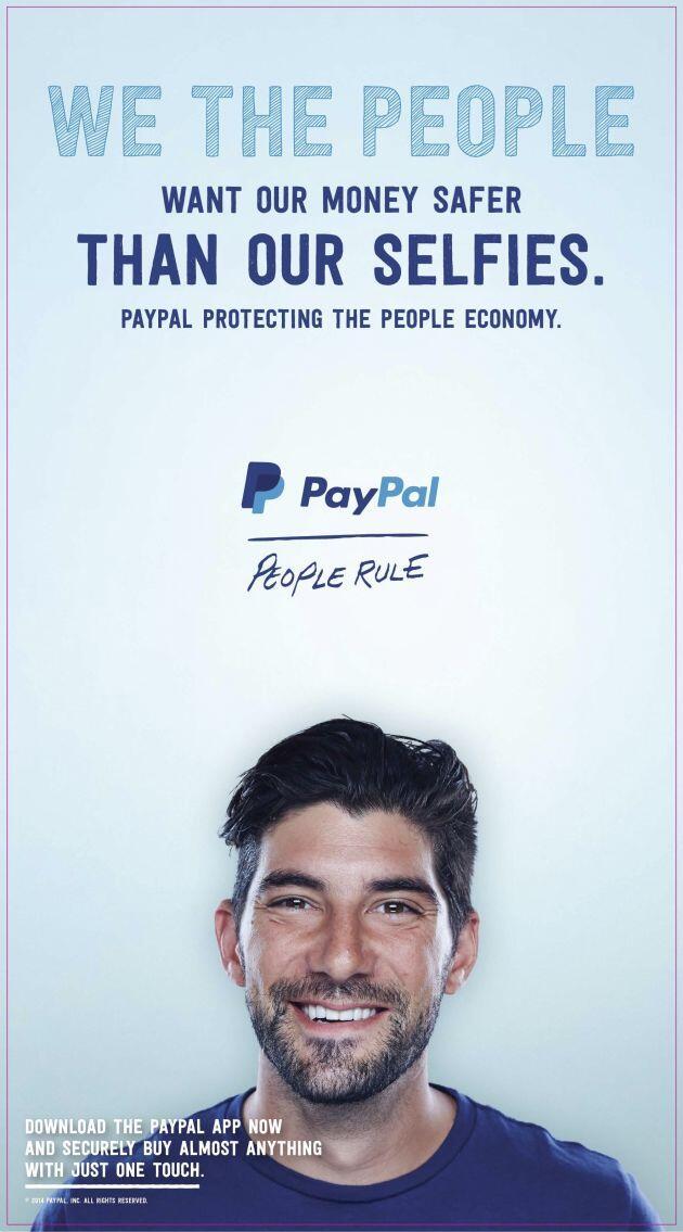PayPal Werbung Apple Pay