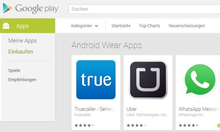 android wear apps google play
