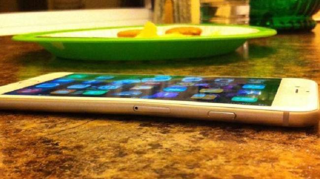iPhone 6 Plus gebogen