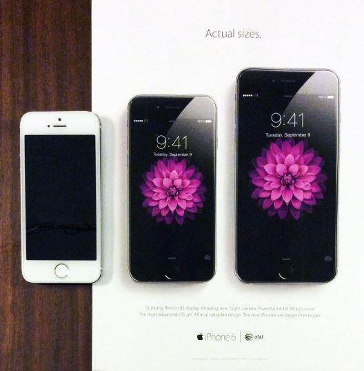 iPhone Printwerbung
