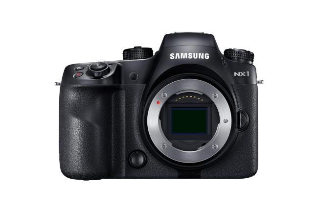samsung nx 1 front
