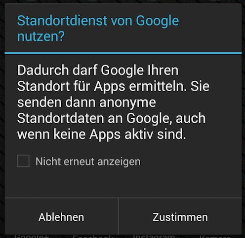 standort-smartdroid-android-popup
