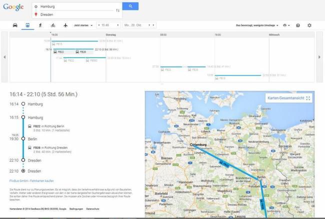 Flixbus Google Maps
