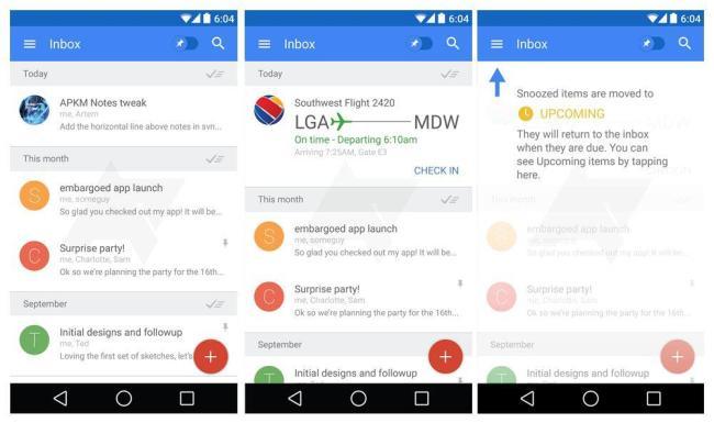 Google Bigtop Android Screens