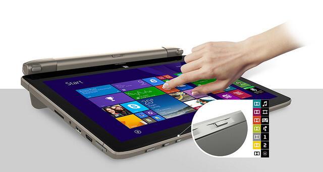 akoya s6214t tablet mode