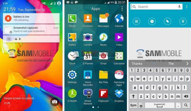 android l galaxy s5 screenshots