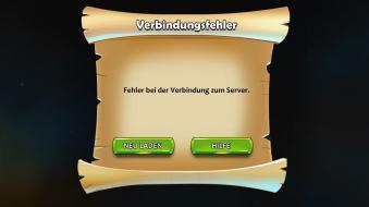 Der Server war im Testzeitraum recht häufig offline