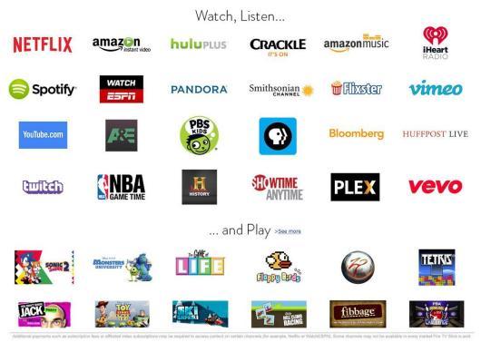 fire tv stick apps