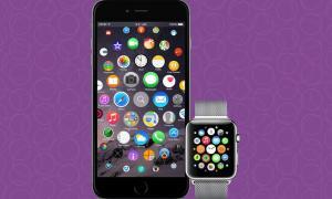 iOS Konzept Apple Watch Header