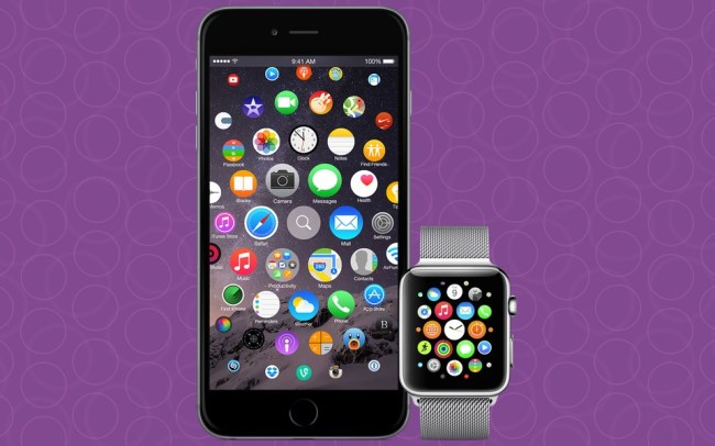 iOS Konzept Apple Watch Header