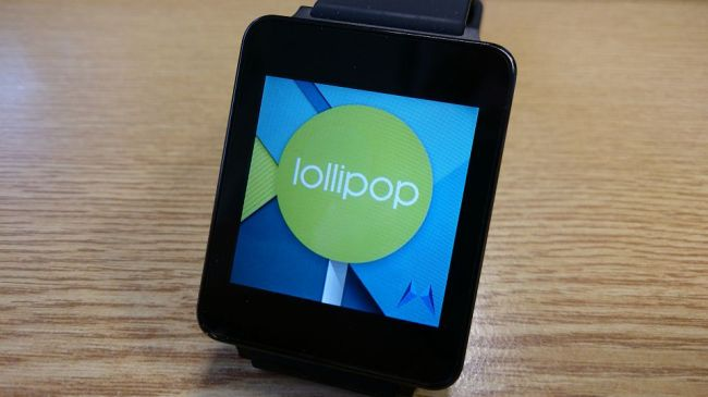Android 5.0 Lollipop auf Android Wear