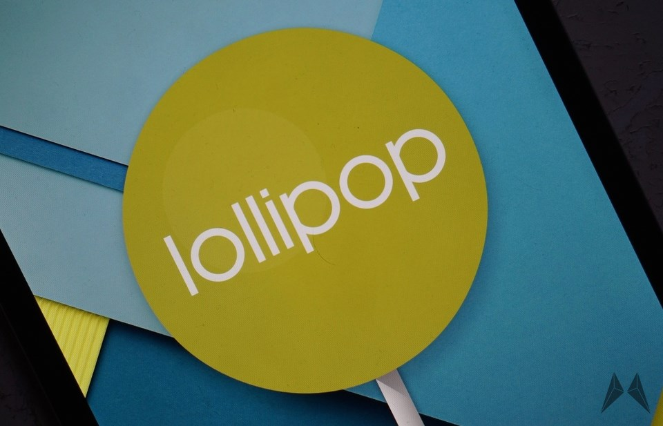 Android Lollipop Header