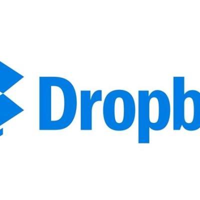Dropbox Logo Header