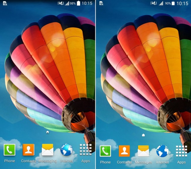 Galaxy S4 KitKat Lollipop