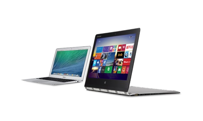 Lenovo Yoga Macbook Air Header