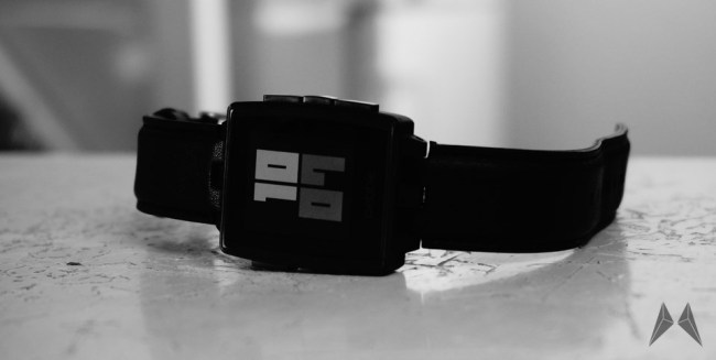 Pebble Steel Header