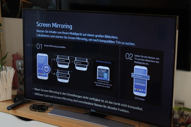 Samsung UE55HU8590 TV 55 Zoll curved 4K 3D  IMG_3830