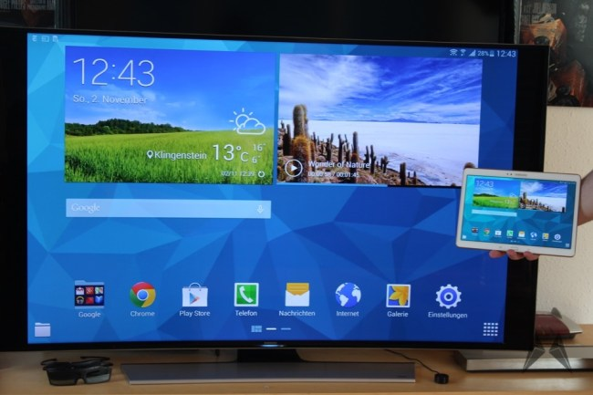 Samsung UE55HU8590 TV 55 Zoll curved 4K 3D  IMG_3832