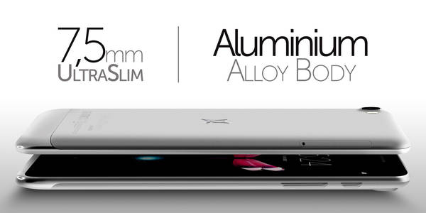 allview h7 aluminium body
