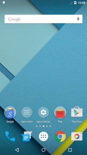 Apex Launcher Material-Design 01