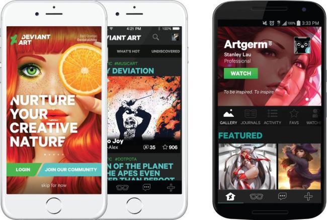 DeviantArt App