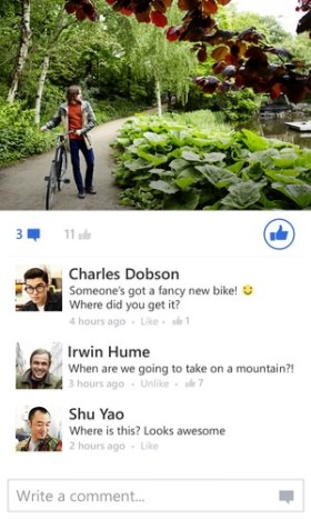 Facebook Beta Windows Phone 02