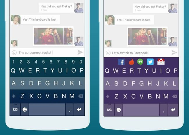 Fleksy Screen