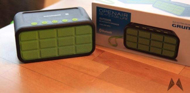 Grundig BSG 200 NFC Bluetooth Lautsprecher Header