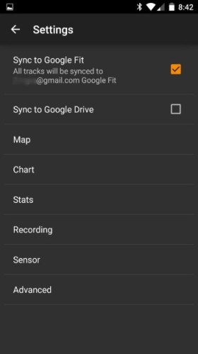 Meine Tracks Google Fit 02