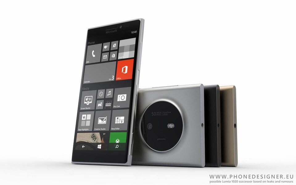 Microsoft Lumia 1030 Konzept Header