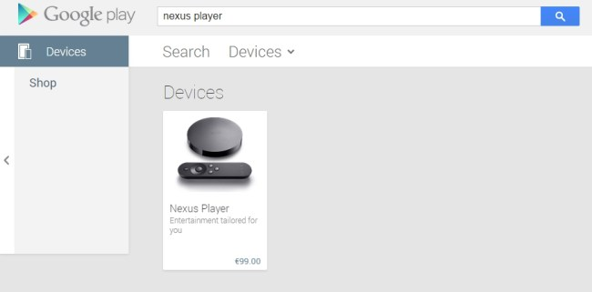 Nexus Player Deutschland