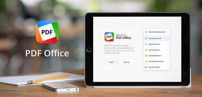 PDF Office iPad Header