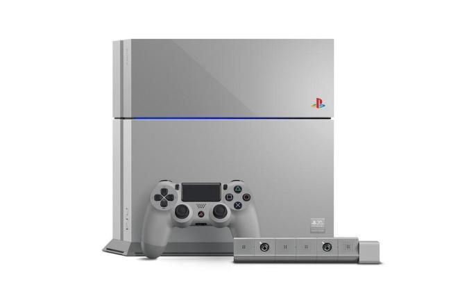 PlayStation 4 Grau Header