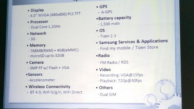 Samsung_Z1_Specs