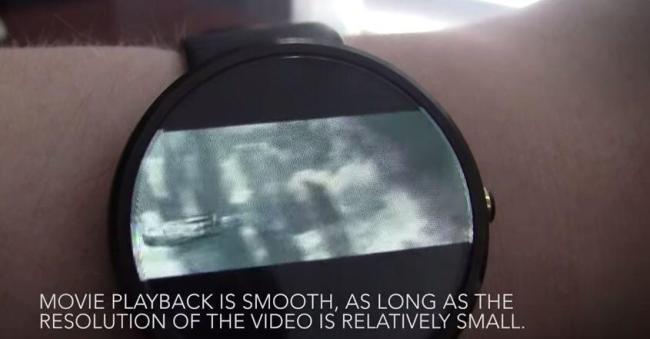 Video on Moto360