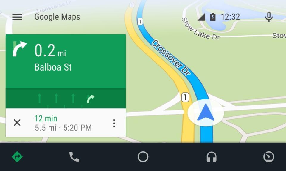 AndroidAuto-UI-Navigation