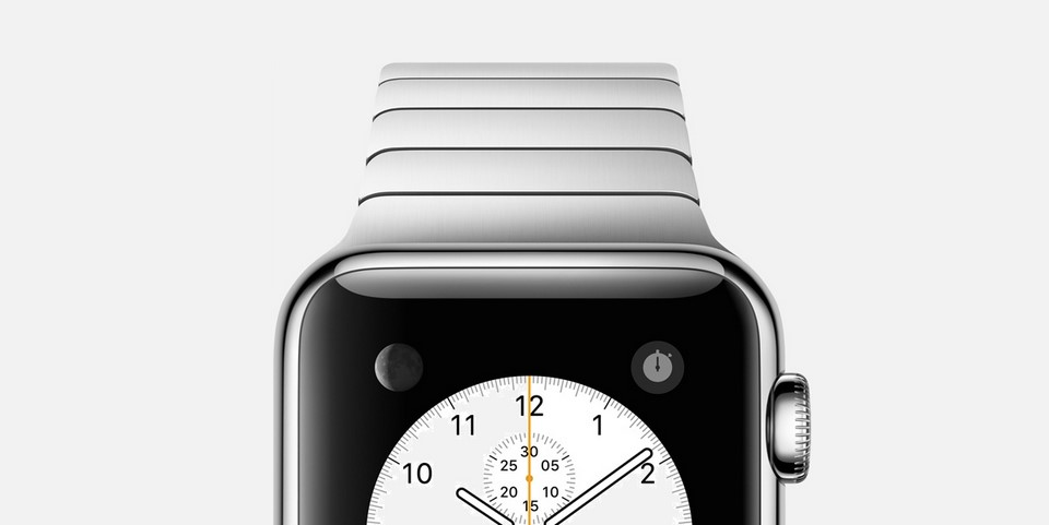 Apple Watch Detail Header